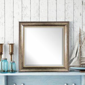 Ingram+Square+Framed+Wall+Mirror