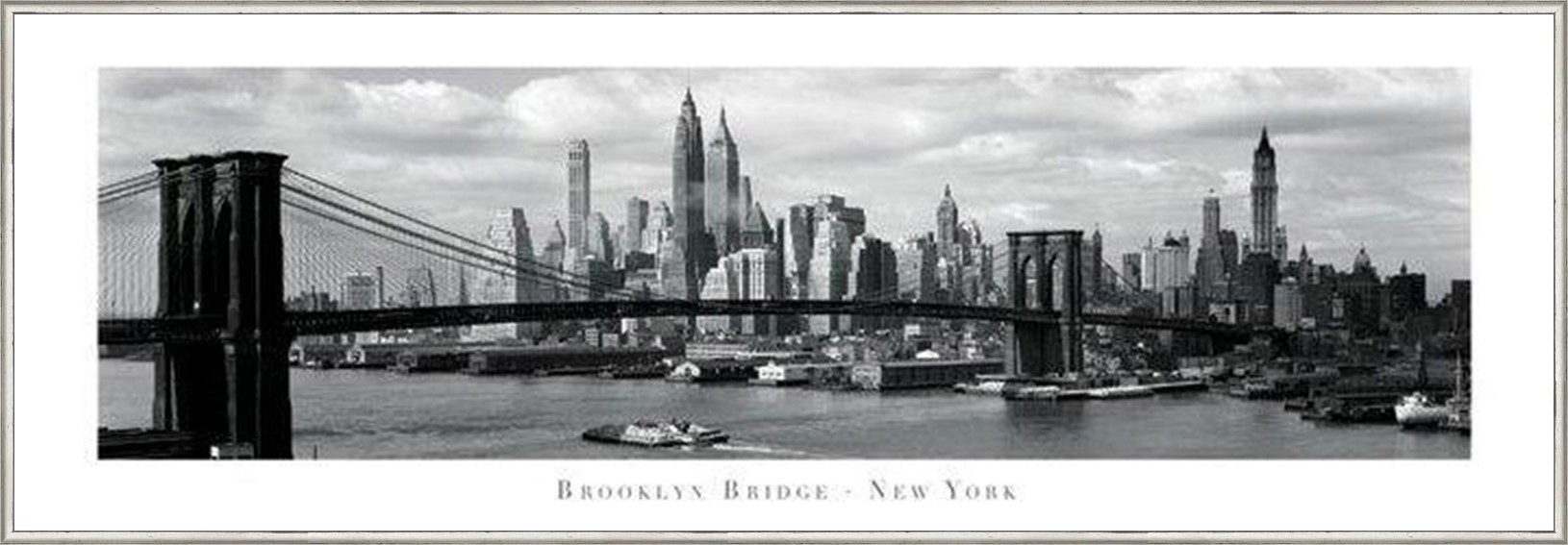 мост картина в рама